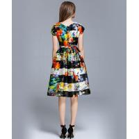 Buy cheap Floral printed silk organza midi dress from wholesalers