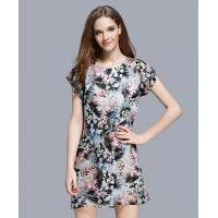 Buy cheap Clothing Floral printed organza dress from wholesalers
