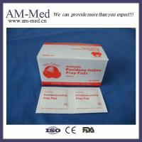 China Wound Dressing Medical Povidone-iodine Prep Pad wholesale