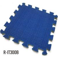 China 10mm Blue Easy installation Indoor Interlocking Rubber Mat wholesale