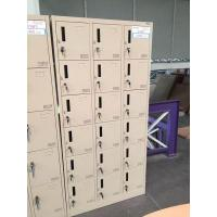 China New Style KD Structure Customized Eighteen Door Clothes Locker Manufacturer Produce wholesale