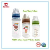China Wide Neck PP Baby Bottles For Feeding Babies wholesale