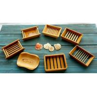 China Natural Bamboo Soap Holder Bamboo Soap Dish for Home and Bathroom or Hotel Toilet wholesale