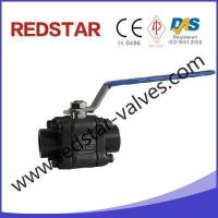 China 3pc Sw Ball Valve Forged Steel on sale