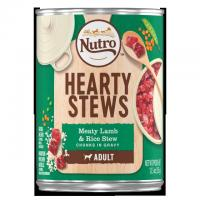 China Shop Dogs Hearty Stews Adult Wet Dog Food Meaty Lamb & Rice Stew - Chunks in Gravy wholesale