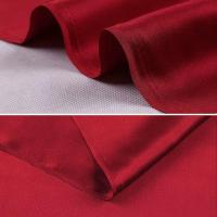 Buy cheap Luxury Doubleside Heavy Silk Satin Fabric For Silk Wedding Dress Party dress from wholesalers