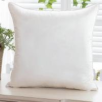 China Luxurious Solid Plain Dyed Silk Cushion Cover Sofa Pillow Case 45 x 45 cm wholesale