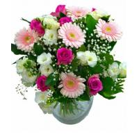 China Get Well Flowers Hugs & Love Delicate Pink & White Flowers 41.95 36.95 Hugs & Love wholesale