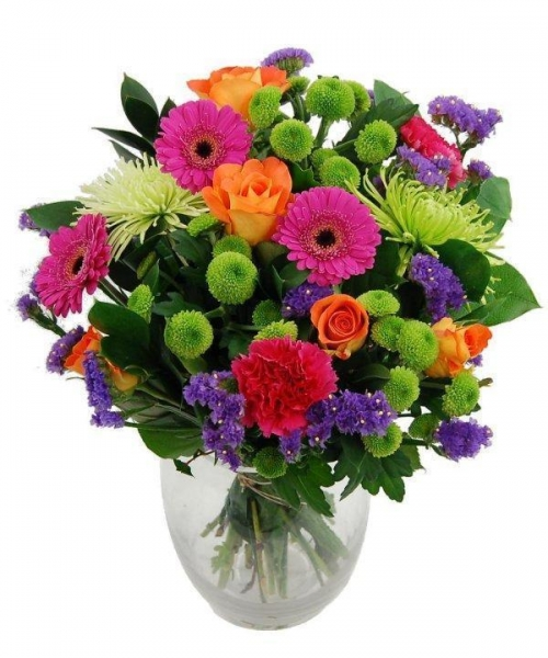 Quality Get Well Flowers Bright Zest Flowers Luxury Flower Bouquet 39.95 34.95 Bright Zest Flowers for sale