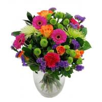 China Get Well Flowers Bright Zest Flowers Luxury Flower Bouquet 39.95 34.95 Bright Zest Flowers wholesale