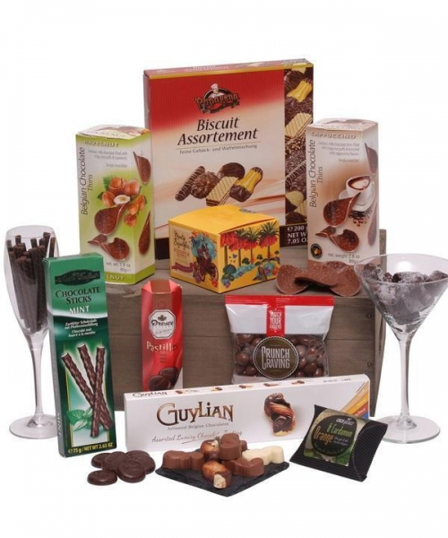 China Food Hampers Chocolate Heaven Chocolate Hamper 49.95 44.95 Chocolate Heaven