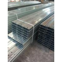 Buy cheap Galvanised Steel C Purlin For Wall & Roof Support from wholesalers