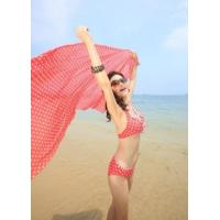 China Women With Plain Or Print Colorful Beach Sarong Dress Wrap on sale