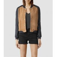 Buy cheap Leather Jacket Women Suede Bomber Jackets from wholesalers