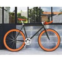 China hi-ten steel fixie bicycles/fixed gear bike with bull bar GS-01 wholesale
