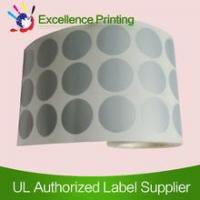 PET adhesive silver sticker