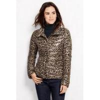 China Eurpoean Women's Leapord Print Lightweight Down Packable Jacket wholesale