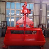 Buy cheap excavator hydraulic rotating grab from wholesalers