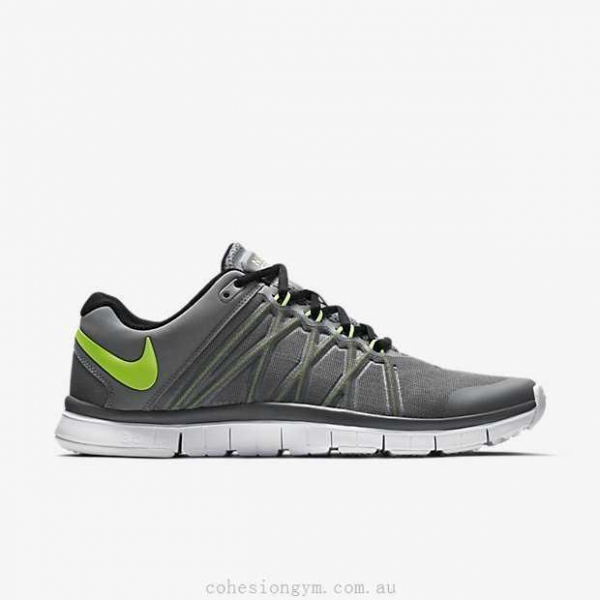 Quality Men's Shoes 630856-030 Nike Free Trainer 3.0 Cool Grey/Black/Volt for sale