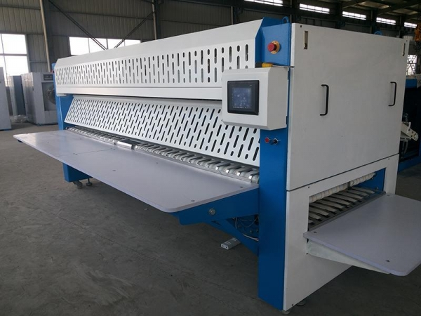 Quality Ironing Table Series Linen folding machine for sale