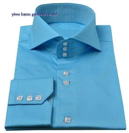 Km 635 cutaway high collar mens dress shirts of kamushirts for Mens high collar dress shirts