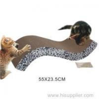 Buy cheap Cat scratcher corrugated board with steady feet from wholesalers