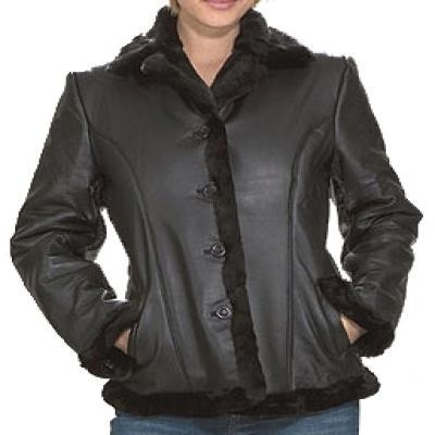 Quality Woman Coat Leather Jackets for sale