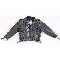 Buy cheap Kid Leather Jacket child coat from wholesalers