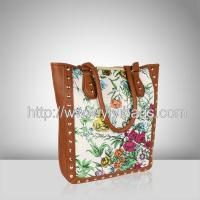China J064-2014 tote bag,designer fashion canvas tote bags,fashion canvas hand bags wholesale