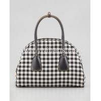 China P2341- latest design checkered bag famous brand standard size cotton tote bag wholesale