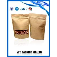 China Brown paper bag with window wholesale