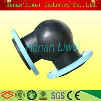 Buy cheap GJQ(X) flexible 90 degree rubber elbow from wholesalers