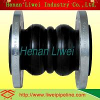 Buy cheap Flow strong acid flexible rubber pipe connector from wholesalers