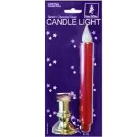 China LED Battery Operated Timer Christmas Candle on sale