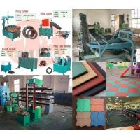 China Reclaimed Rubber Production Line Rubber Floor Machine wholesale