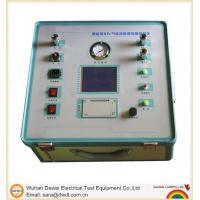 China Switch Tester SF6 Gas Density Relay Verification Test wholesale
