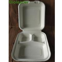 Buy cheap Sugarcane Bagasse Tableware Series Bagasse Box 8