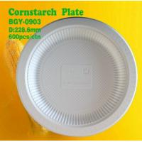 Buy cheap Cornstarch Plate 9inch from wholesalers