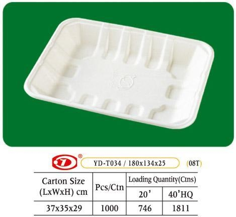 """Quality Tray Bagasse Tray 7"""" x 5"""" for sale"""