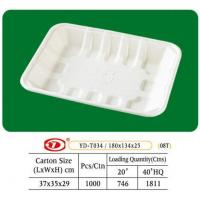 "China Tray Bagasse Tray 7"" x 5"" wholesale"