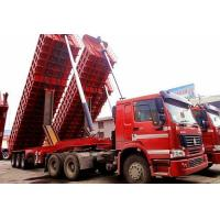 China dump trailer+howo tractor on sale