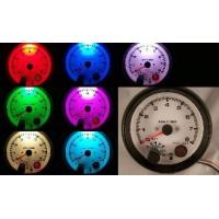 China Tachometers 3 3/4 Tachometer Black with White Face and Shift Light 7 Color on sale