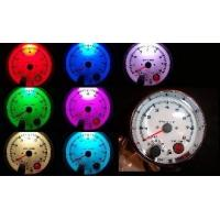 China Tachometers 3 3/4 Tachometer Chrome with Shift Light 7 Color on sale