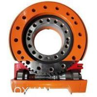 China Worm Gear Slew Drive / Slewing Ring Bearing For Solar Tracker , Excavator wholesale