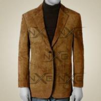Buy cheap Men Suede Leather Blazer from wholesalers
