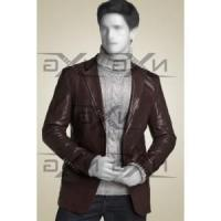 Buy cheap Men Ronald Leather Blazer from wholesalers