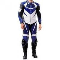 Buy cheap Yamaha R Series Blue Motorcycle Suit Custom Sized from wholesalers