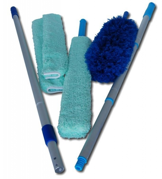 Microfiber Dusters High Reach Microfiber Cleaning Kit Of
