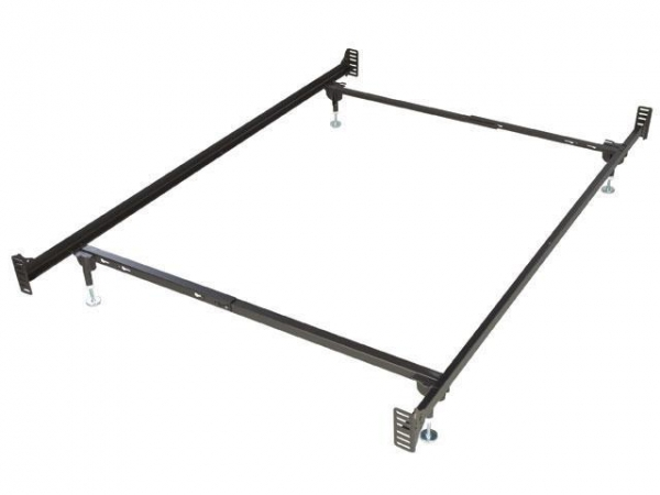 Twin bed frames bolt on twin size metal bed frame for for Twin bed frames for sale cheap