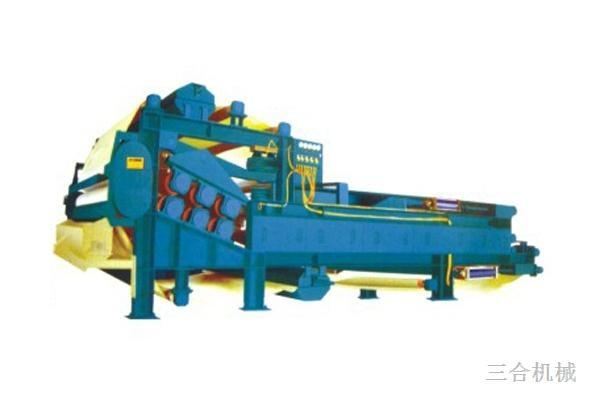 Quality Dual network dual squeeze pulp machine for sale